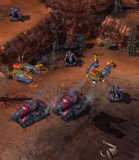 StarCraft 2: czołgi - podstawowa jednostka lądowa Terran