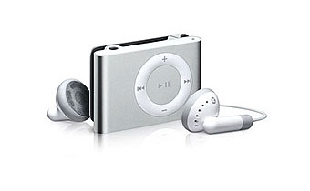 iPod Shuffle 4gen 1GB srebrny